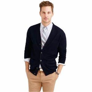 J Crew Slim Merino Wool Cardigan Sweater SOFT